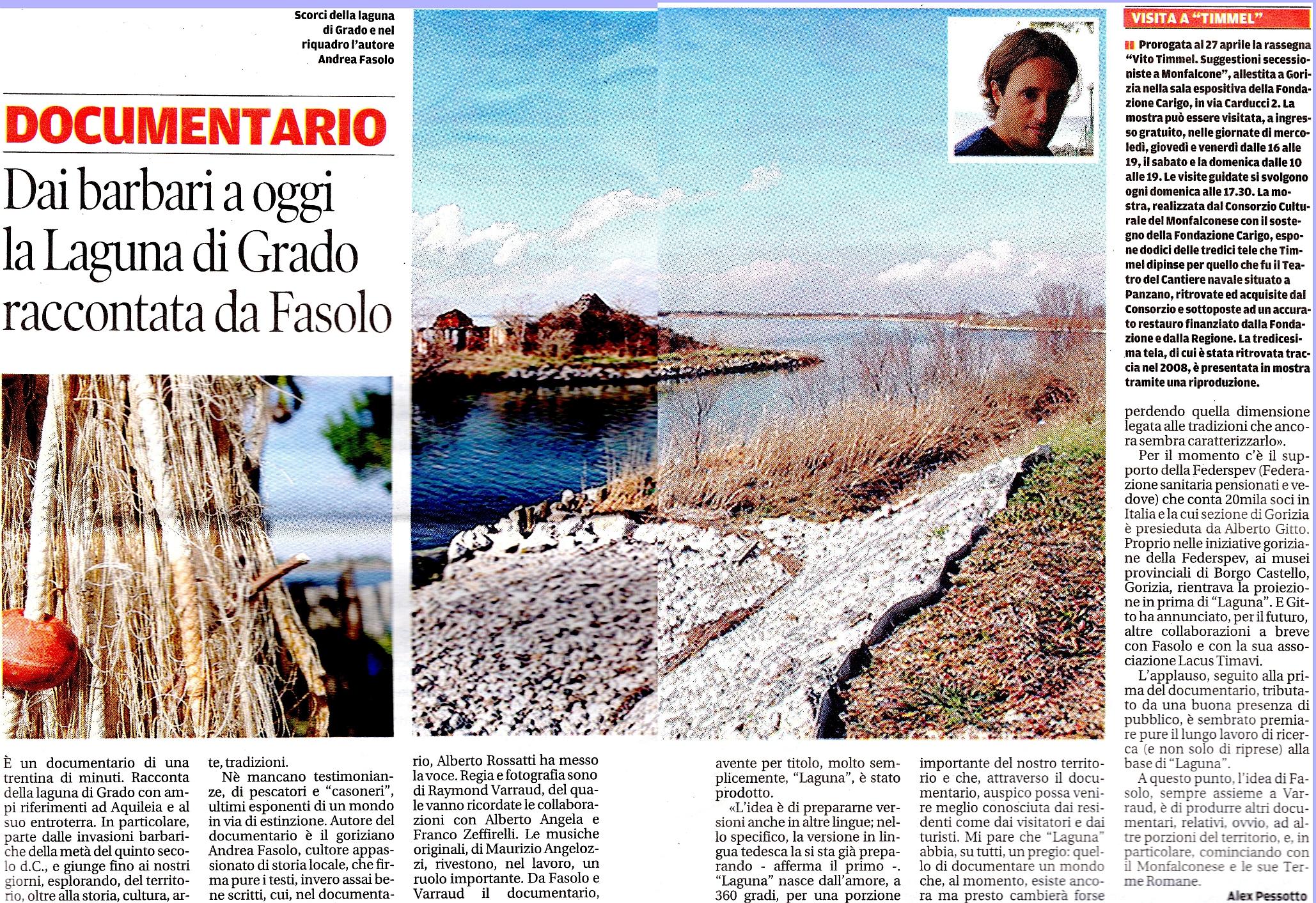 Laguna di Grado; lagunadoc; documentario sulla laguna di Grado