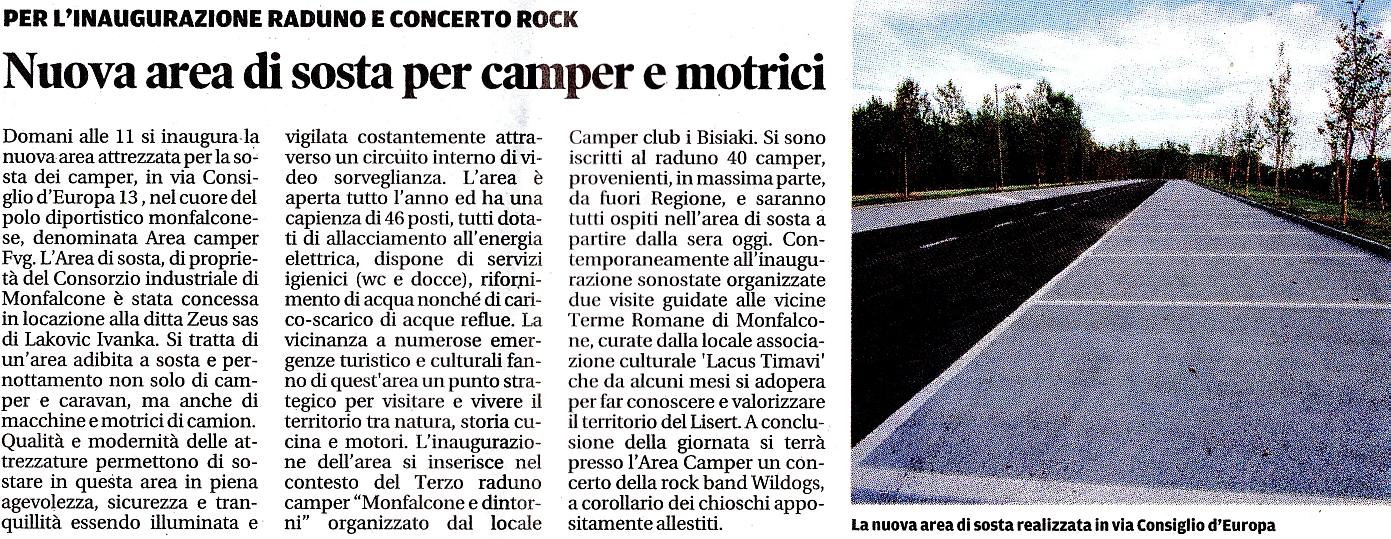 associazione culturale Lacus Timavi; Terme Romane di Monfalcone; area sosta camper Monfalcone; camper Monfalcone;  AreacamperFVG