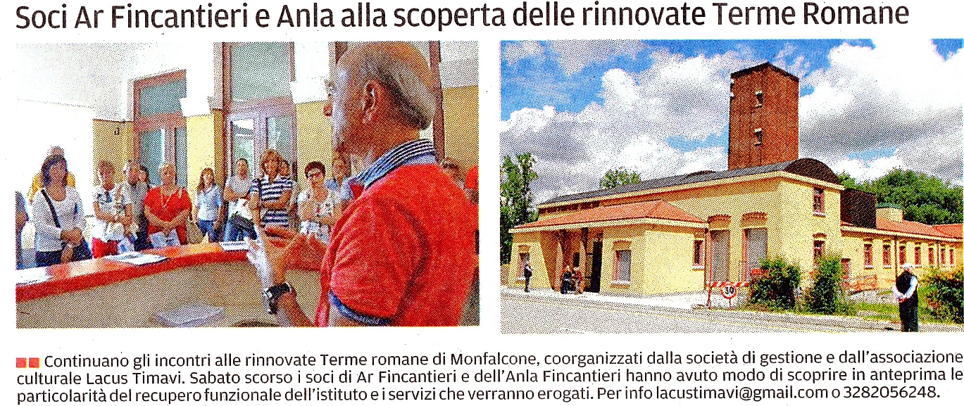 associazione culturale Lacus Timavi; Terme Romane di Monfalcone