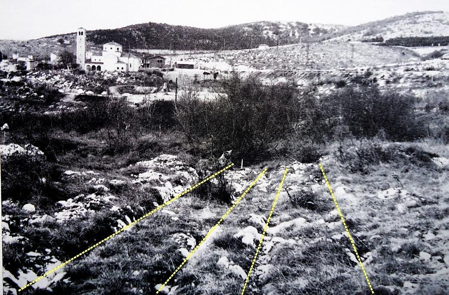 doppio binario di solchi carrai, a San Giovanni di Duino