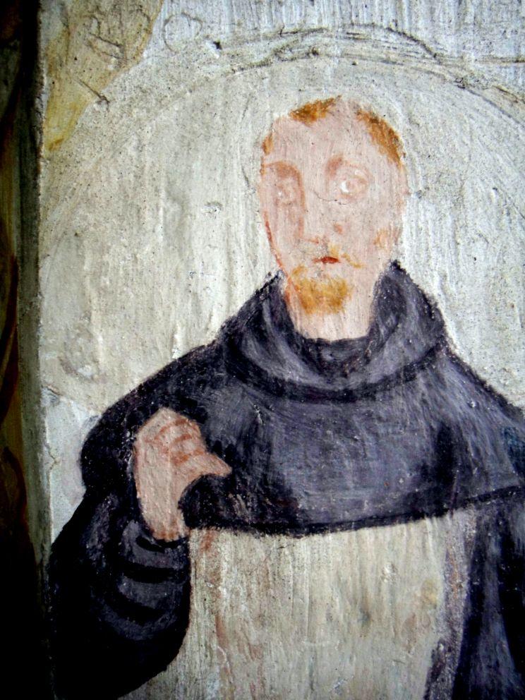 figure di santi, nella chiesa di San Giovanni in Tuba