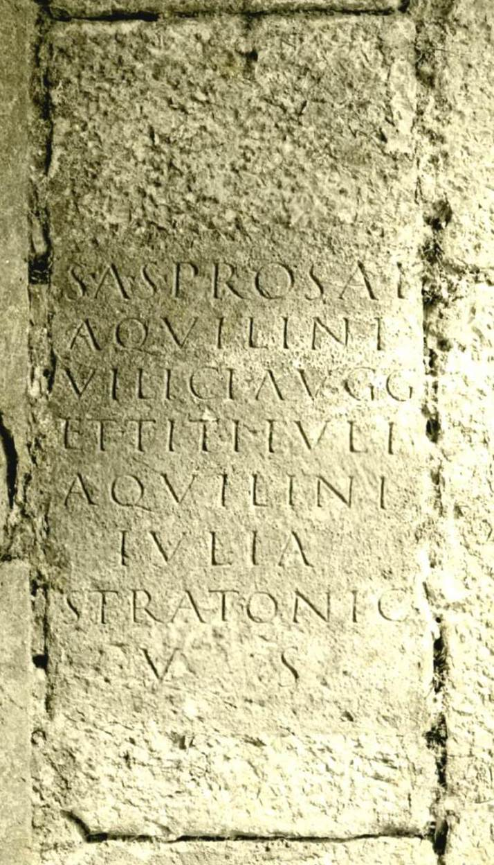epigrafe Duino; Spes Augusta