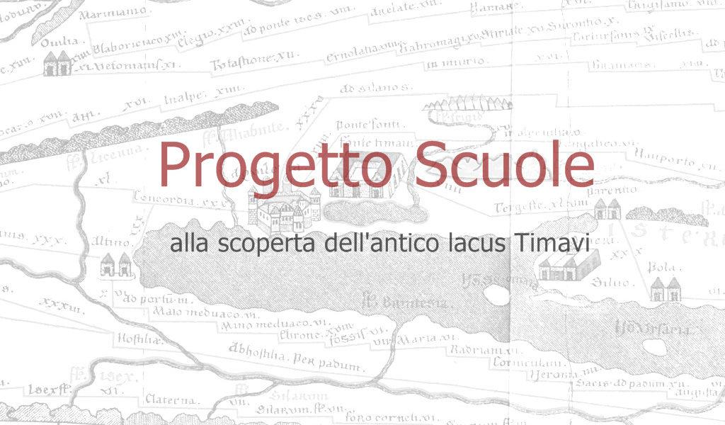 Riparte il Progetto Scuole, alla scoperta dell'antico Lacus Timavi
