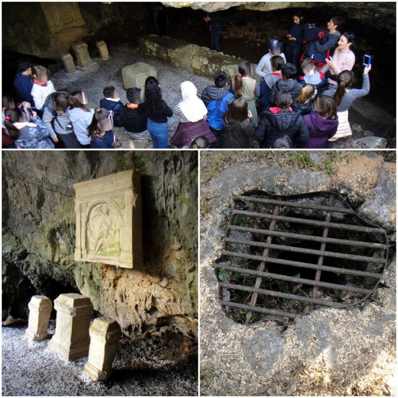 archeologia Italia; Progetto Scuole; Mitreo di Duino