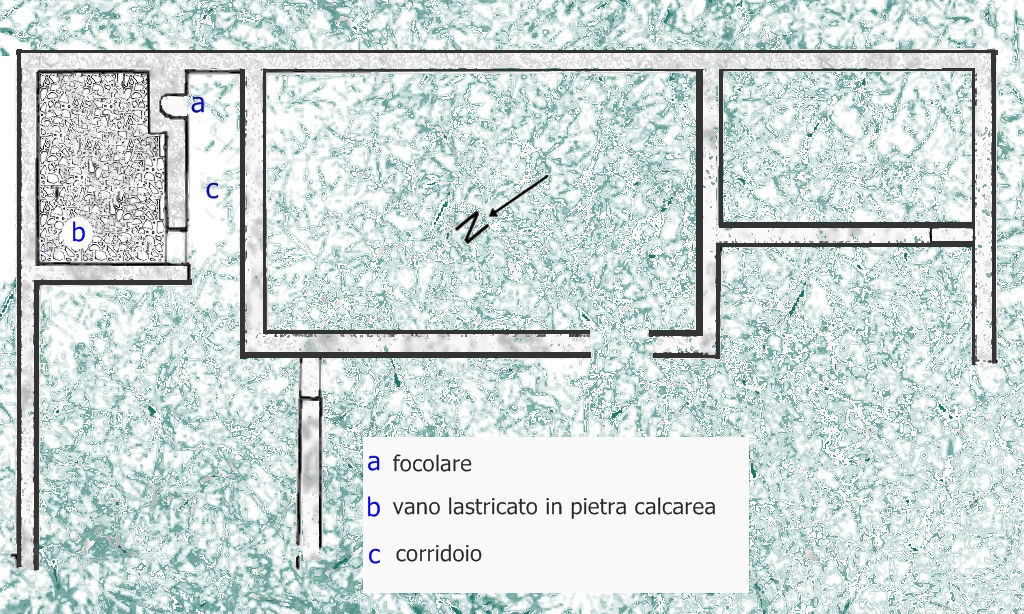 villa romana della torre piezometrica; Sistiana; Roma; mappa