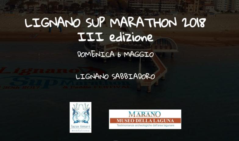 Lignano Sup Marathon | stand Lacus Timavi+Museo Archeologico della Laguna [domenica 6 maggio]
