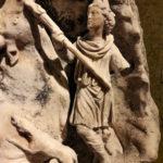 Cautes, rilievo di Mithra al Kunsthistorisches Museum di Vienna