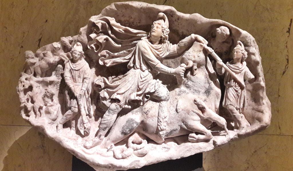 il Mitra tauroctono di Aquileia