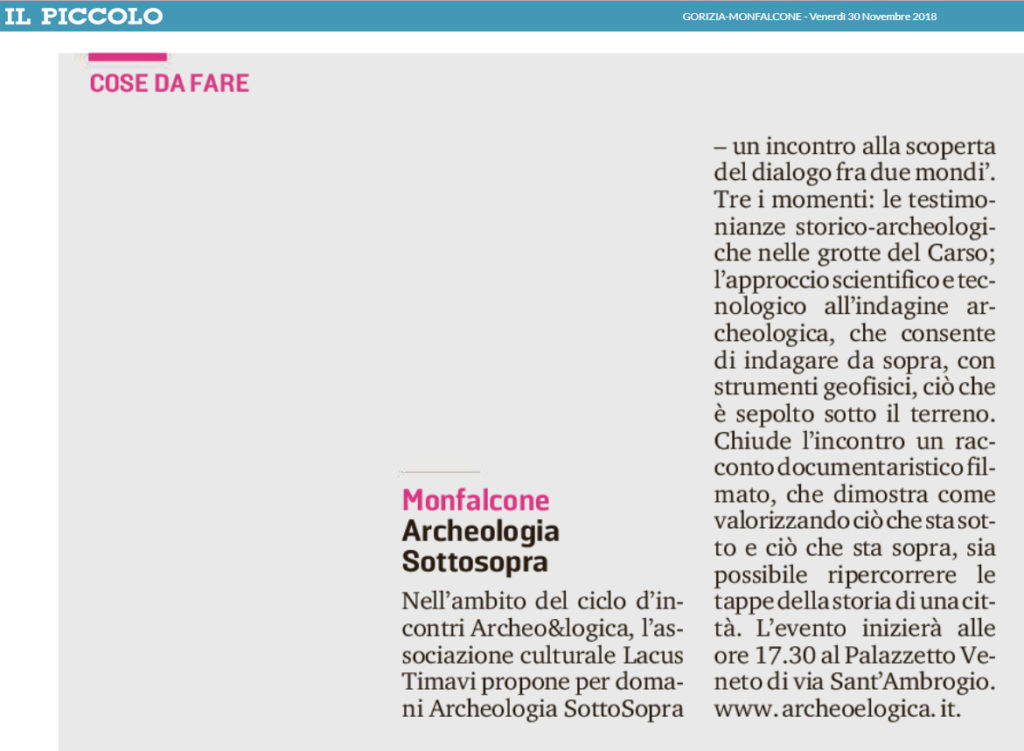 Monfalcone; Trieste; archeologia; grotte; Carso; mitreo
