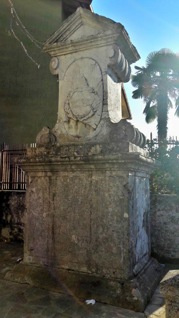 il cippo tra Venezia e Austria a Sagrado