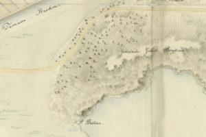 promontorio di punta Bratina nel 1824