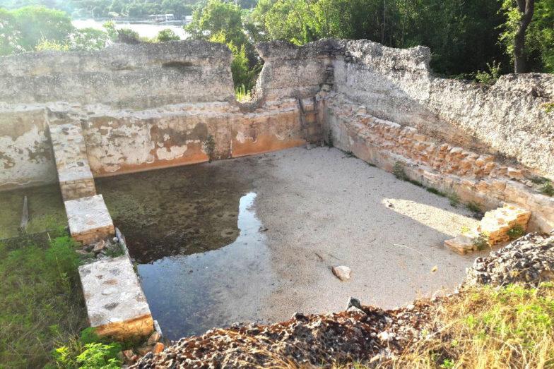 il sito archeologico di Loron, in Istria