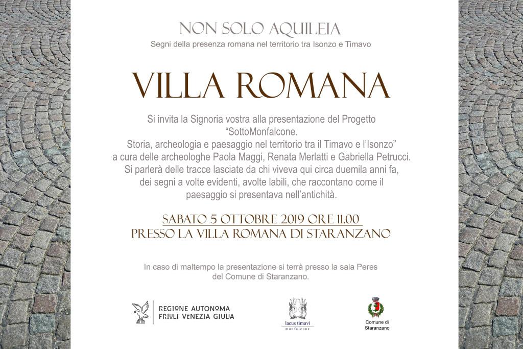 Non solo Aquileia. Segni della presenza romana nel territorio tra Isonzo e Timavo.