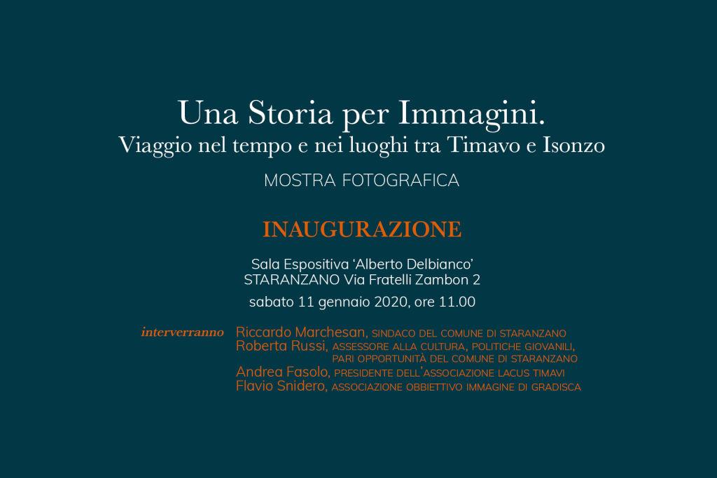 Una Storia per Immagini | inaugurazione mostra a Staranzano
