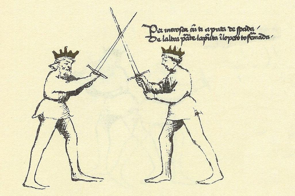 la spada di Monfalcone e il Flos Duellatorum