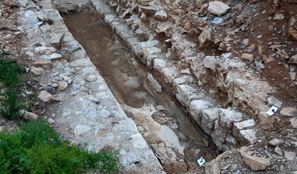 nuovi tratti dell'acquedotto romano della Val Rosandra