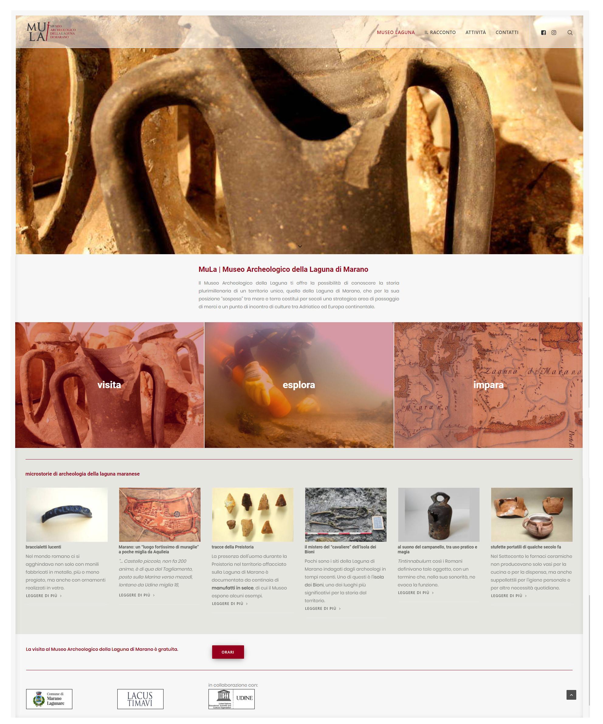 Museo Archeologico della Laguna di Marano; Andrea Fasolo; Paola Maggi