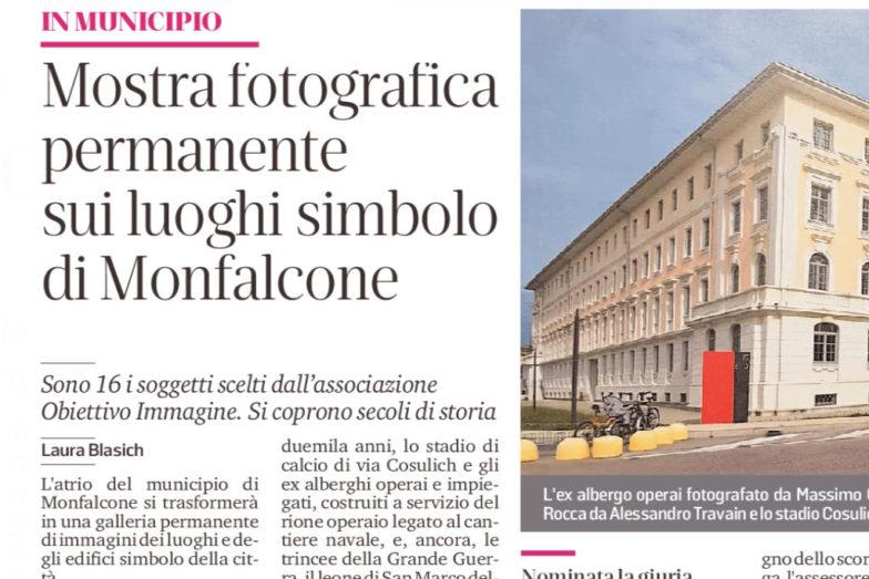 in municipio, una mostra fotografica permanente sui luoghi simbolo di Monfalcone