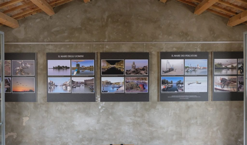la mostra fotografica 'Con il mare negli occhi' alle saline di Sicciole